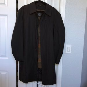 Jos. A. Bank Overcoat. Made in China.